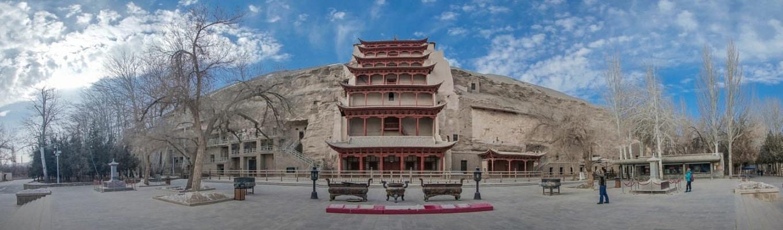 Hang động Mạc Cao, còn được gọi là Thiên Phật Động, là một hệ thống có tới 492 ngôi đền.
