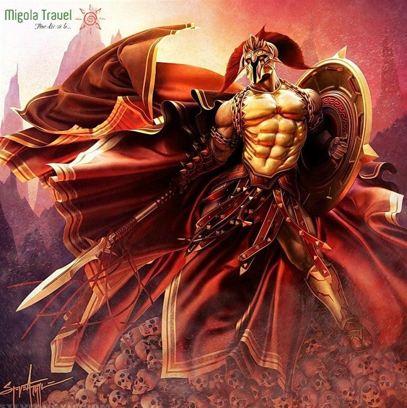 Thần Ares