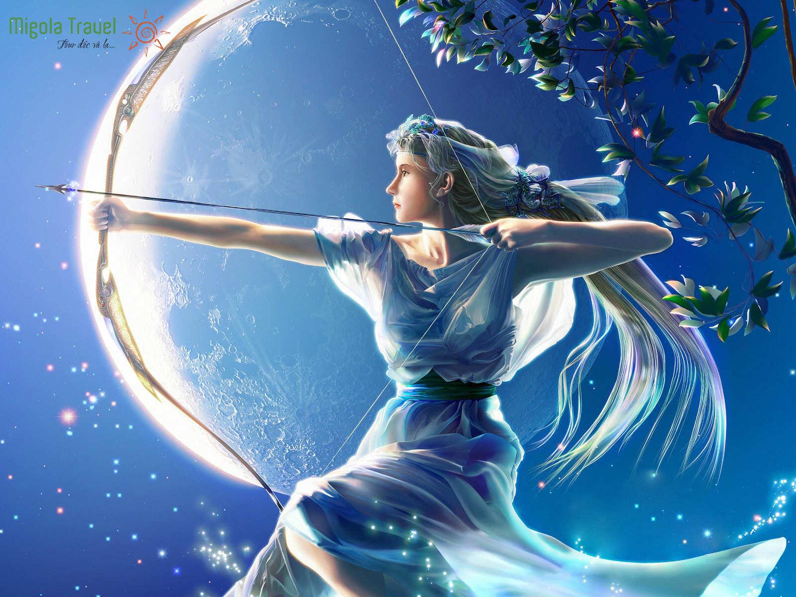 Thần Artemis
