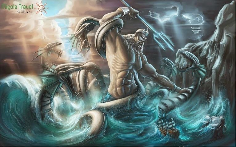 Thần Poseidon