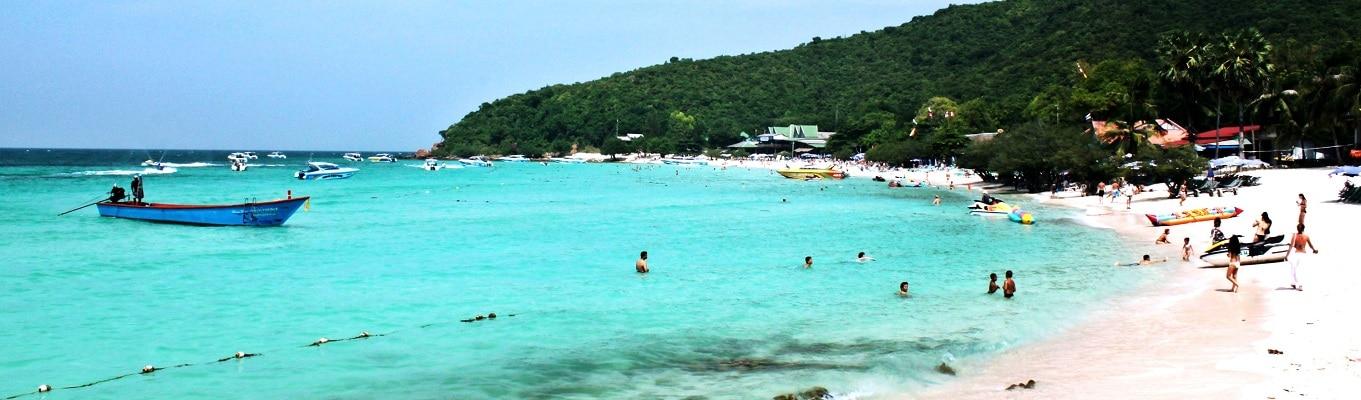 Đảo Coral (đảo San Hô), nơi mang đến cho du khách cảm giác của thiên đường nhiệt đới với nắng vàng và biển xanh lộng gió