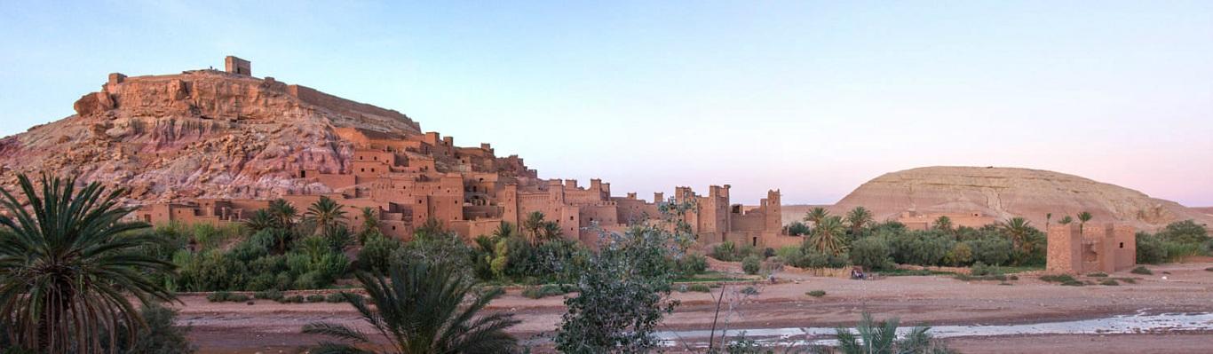 Aït Benhaddou – một tổng hợp hoàn hảo của kiến trúc bằng đất của vùng tiền Sahara của Ma Rốc