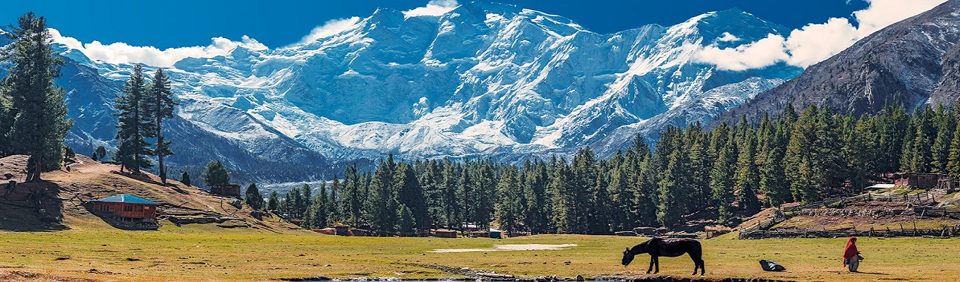 Vườn quốc gia Khunjerab nằm ở Gilgit Baltistan, khu vực tiếp giáp của 3 quốc gia Pakistan, Afghanistan và Trung Quốc. Đây hiện là nơi bảo tồn nhiều loài động vật quý hiếm có nguy cơ tuyệt chủng như báo Tuyết, cừu Marco Polo và dê rừng Hymalaya ...