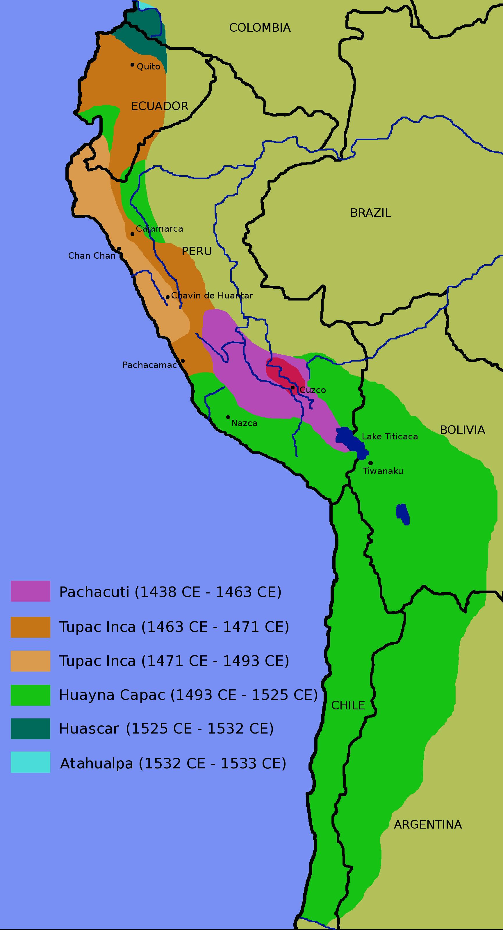 Inca-map