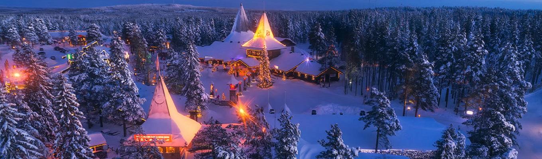 Đến với Rovaniemi, quý khách sẽ được khám phá vùng đất cổ tích này bằng chuyến du hành đến Ngôi làng của Ông Già Noel nổi tiếng.