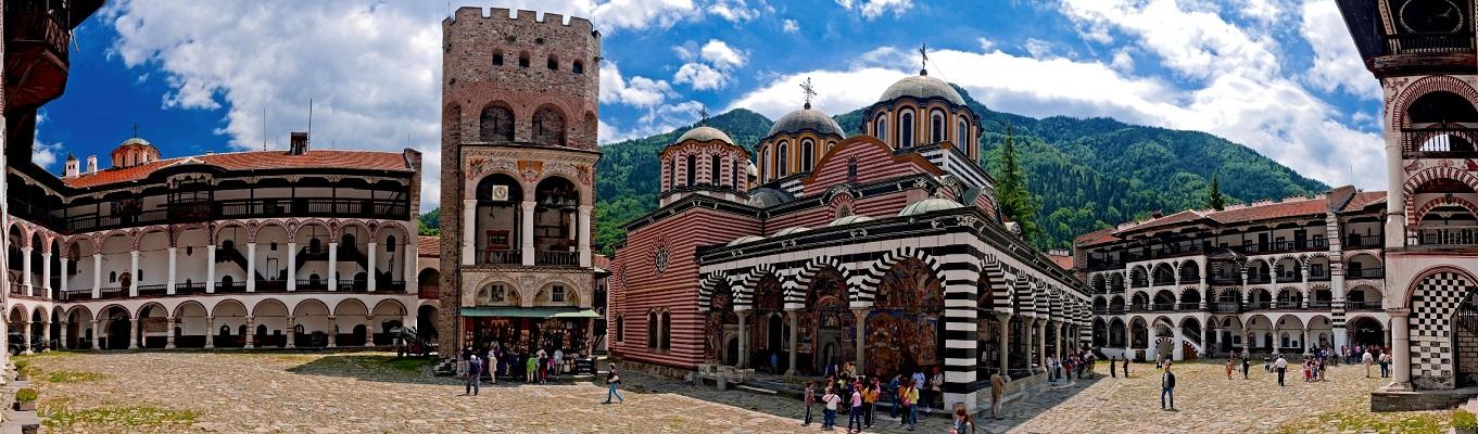 Rila là quần thể tu viện chính thống lớn nhất và quan trọng nhất, được xem là Jerusalem của  Bulgaria, được thành lập từ thế kỷ thứ 10 bởi ẩn sĩ Ivan.