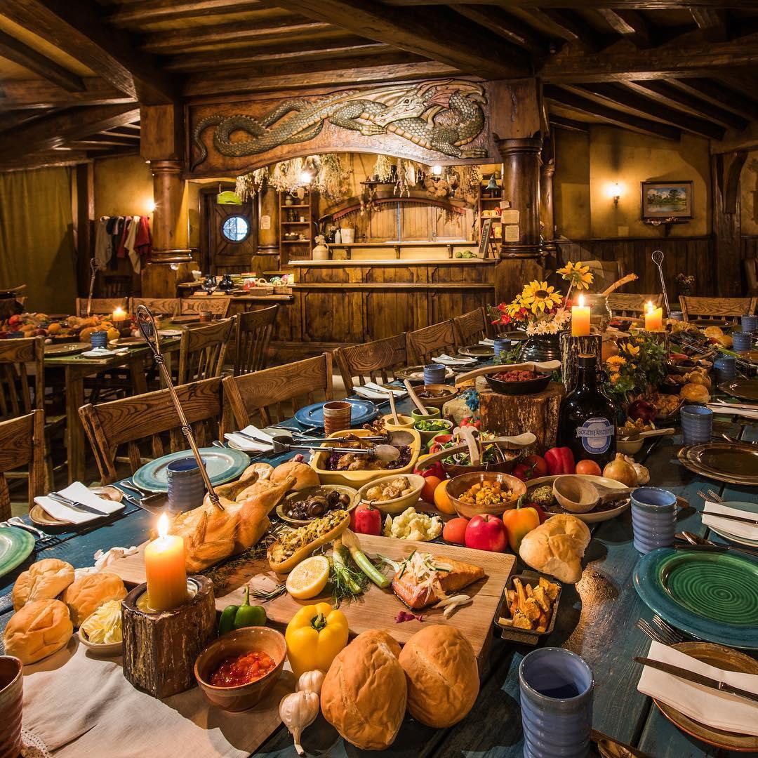 dinner in hobbit