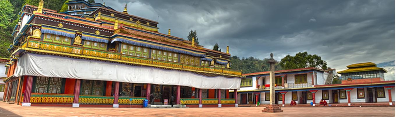 Rumtek là một trong những tu viện Phật giáo lớn nhất ở Sikkim, và cũng là một trong những địa điểm hành hương quan trọng của người Phật tử ở vùng đất này.