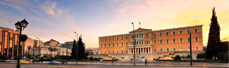 Quảng trường Syntagma còn được gọi là quảng trường Lập hiến, là quảng trường trung tâm của Athens.
