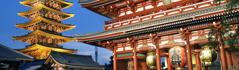 Sensoji là ngôi đền cổ xưa nhất không những của Asakusa, mà là của cả thành phố Tokyo. Đền được xây dựng hoàn chỉnh vào năm 645. Đây là nơi diễn ra nhiều lễ hội lớn ở Tokyo.