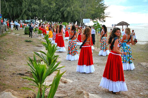 Trang phục của phụ nữ ở Mauritius