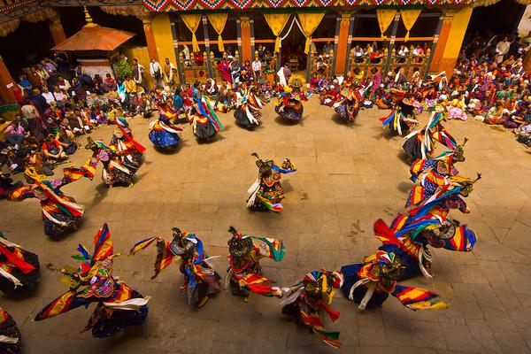 Lễ hội tại Bhutan