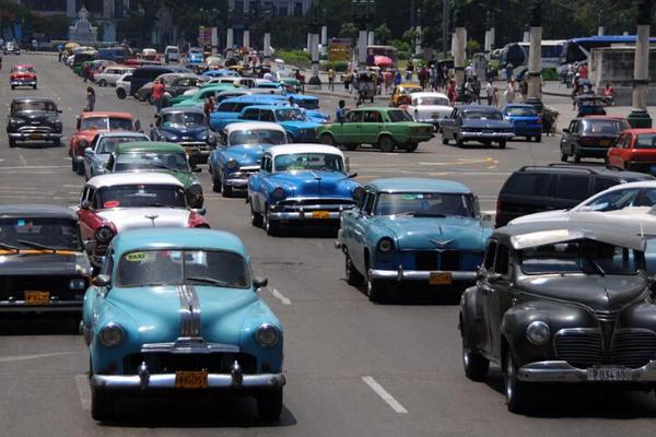 Xe hơi ở Cuba