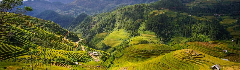 Thung lũng Mai Châu (Hòa Bình) - nơi được mệnh danh là thủ phủ của đồng bào dân tộc người Thái.