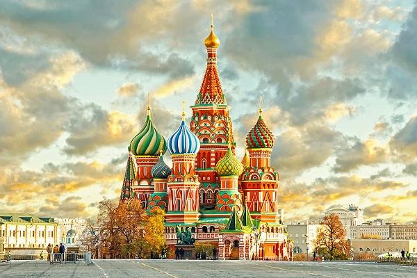"""Vẻ đẹp như xứ sở """" nghìn lẻ một đêm"""" của cung điện Kremlin."""