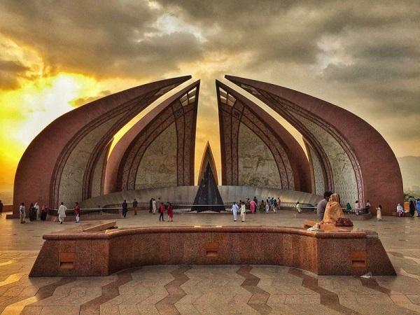 Đài tưởng niệm Pakistan.