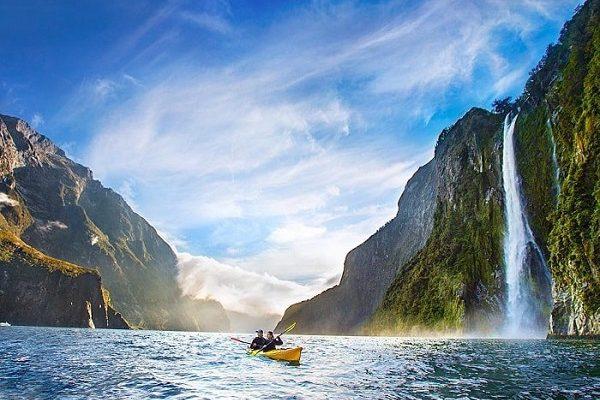 Vịnh Milford Sound.