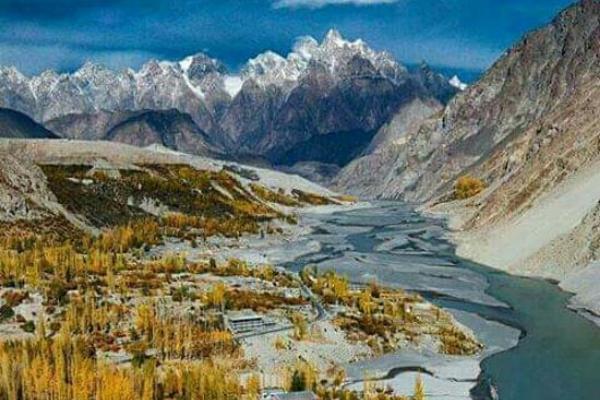 sông băng Passu