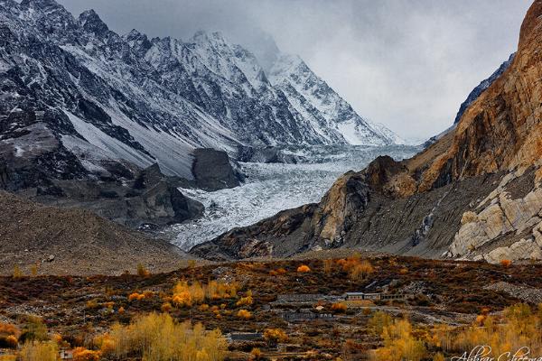 vẻ đẹp của sông băng