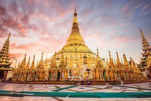 Chùa vàng Shwedagon.