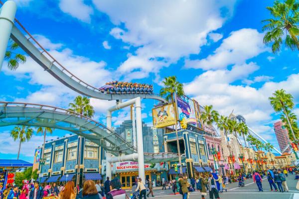 khu vui chơi giải trí nổi tiếng ở thành phố Osaka