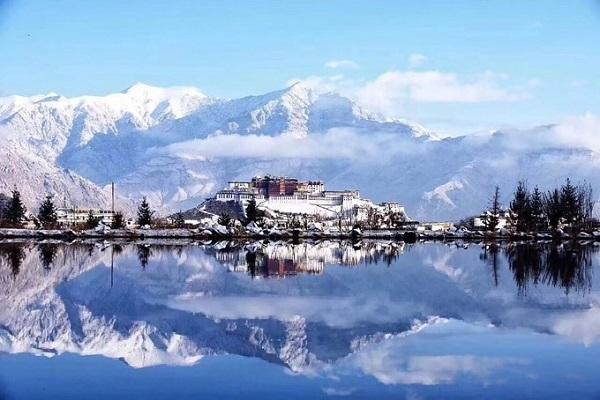 Mùa đông ở Tây Tạng