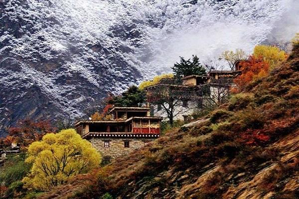 Mùa thu ở Tây Tạng
