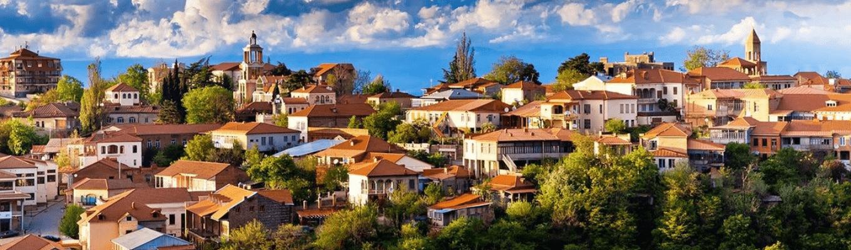 Sighnaghi là một trong những thị trấn tuyệt đẹp và nhỏ nhất của Georgia. Nơi đây còn được biết đến là thành phố tình yêu, nơi nhiều cặp đôi chọn để tổ chức lễ cưới.