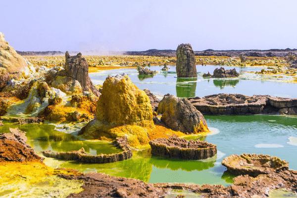 quang cảnh Danakil