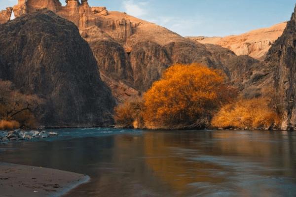 mùa thu Kazakhstan