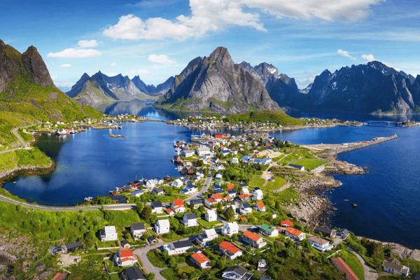 thành phố cảng Bergen