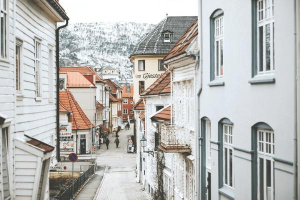 khu phố cổ của Bergen
