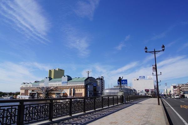 Cảng biển ở thành phố Kushiro